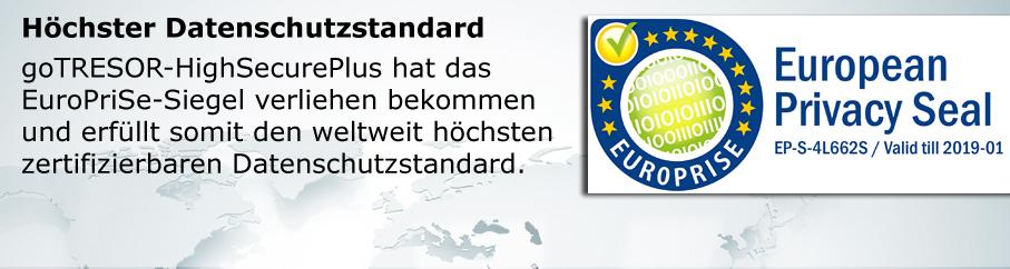 Höchster Datenschutzstandard